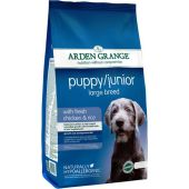 Корм Arden Grange Puppy Junior Large Breed для щенков и молодых собак крупных пород (12 кг)