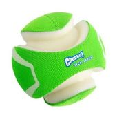 Светящийся мяч CHUCKIT! KICK FETCH MAX GLOW LARGE для собак, резина, большой, 19 см